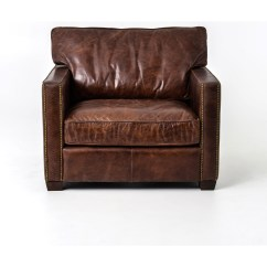 Leather Club Chairs Nebraska Furniture Mart Baby Bath Chair India Four Hands Carnegie Larkin With Cigar