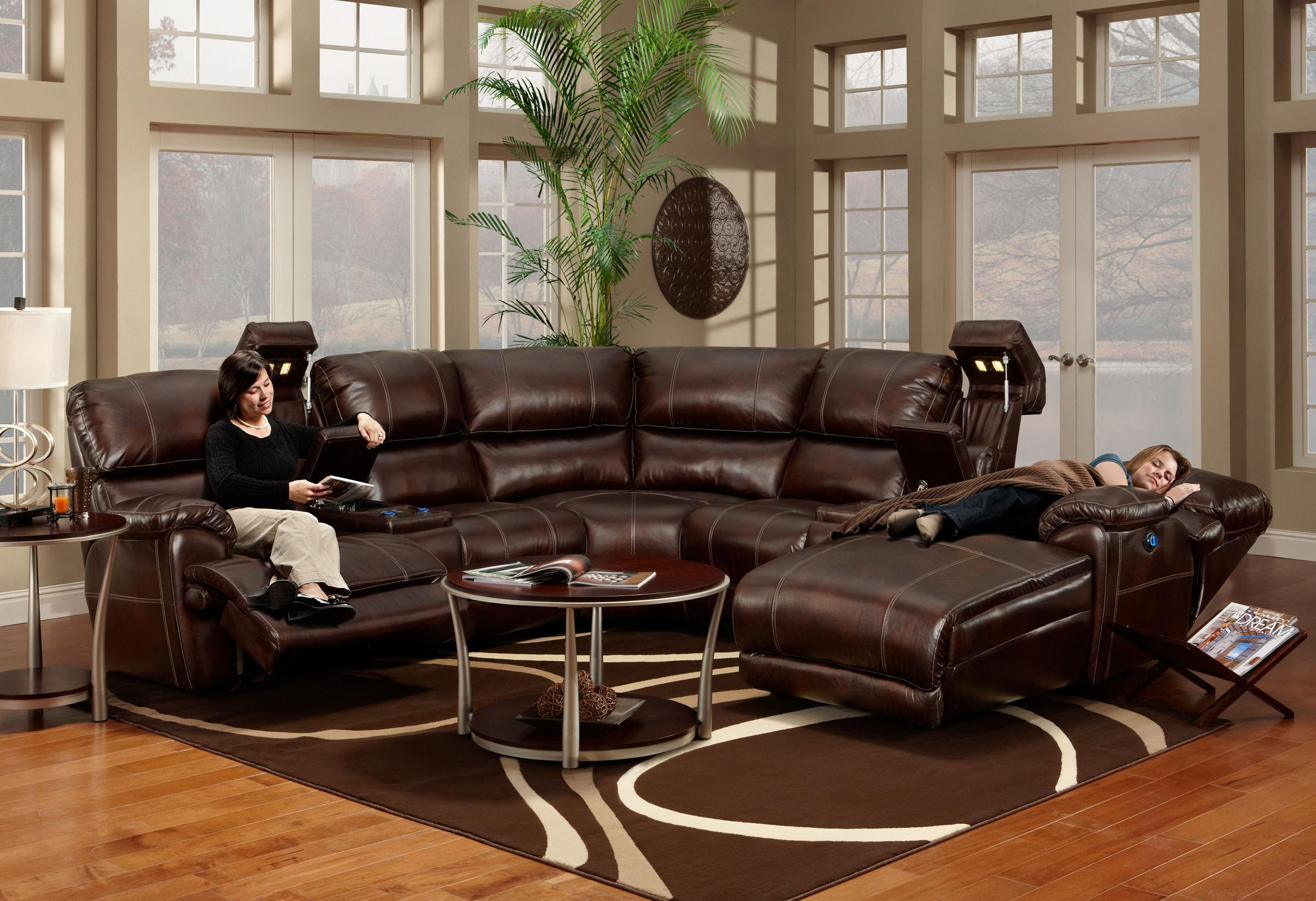 572 reclining sectional sofa with chaise by franklin high quality manufacturers uk olinde