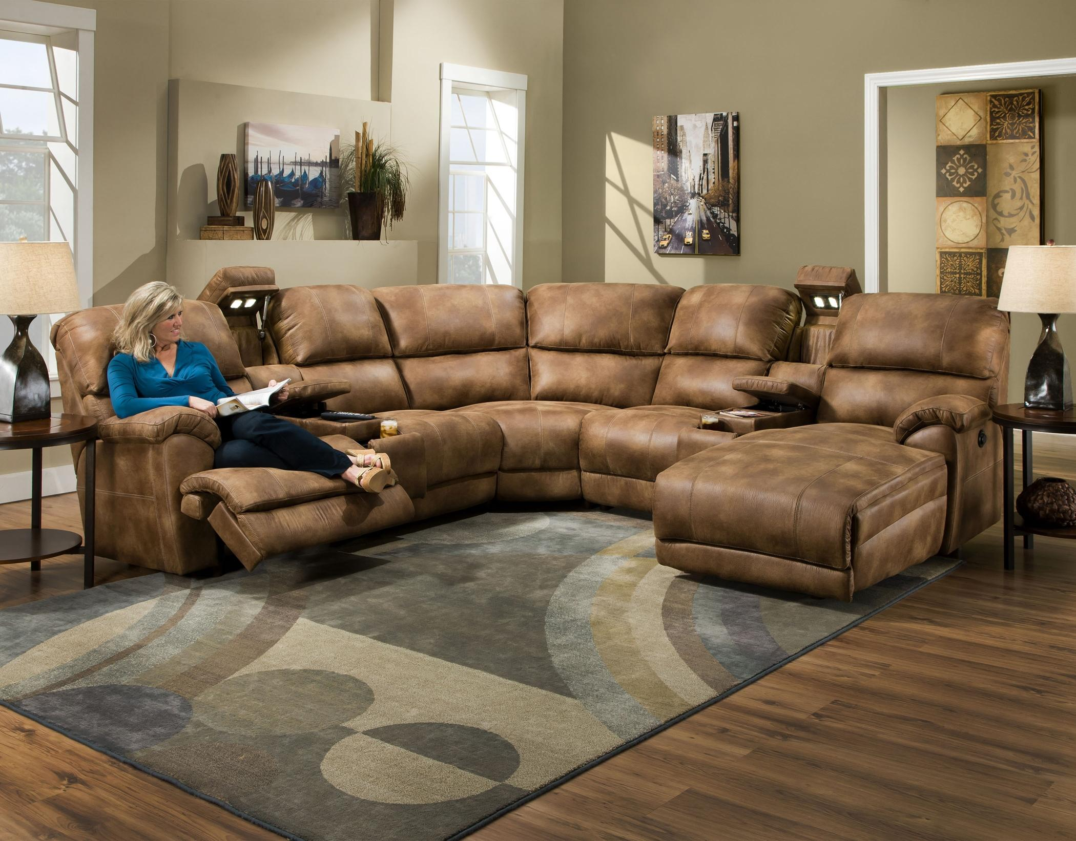 572 reclining sectional sofa with chaise by franklin handmade bed uk