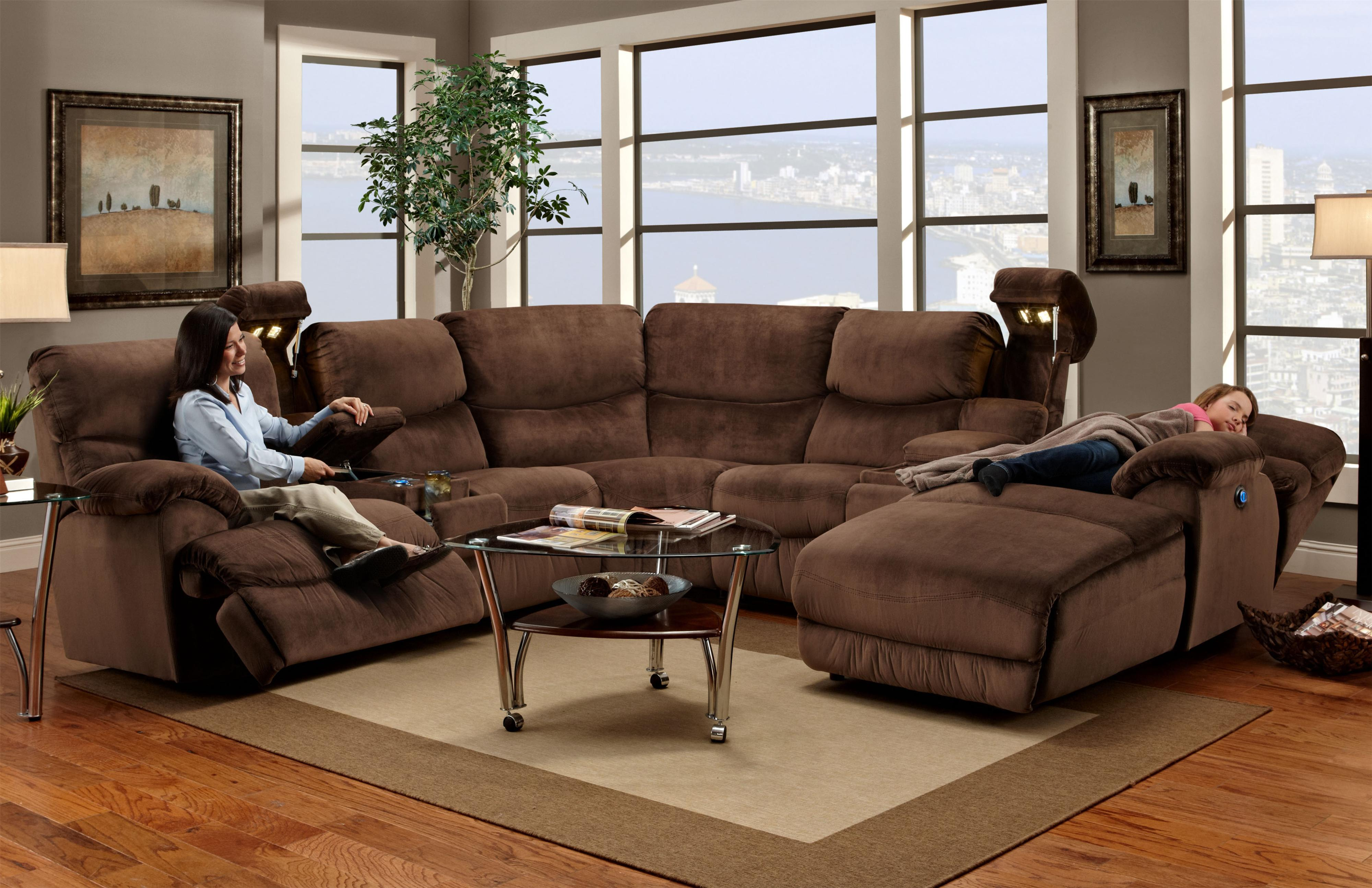 572 reclining sectional sofa with chaise by franklin duresta blenheim 597 casual right