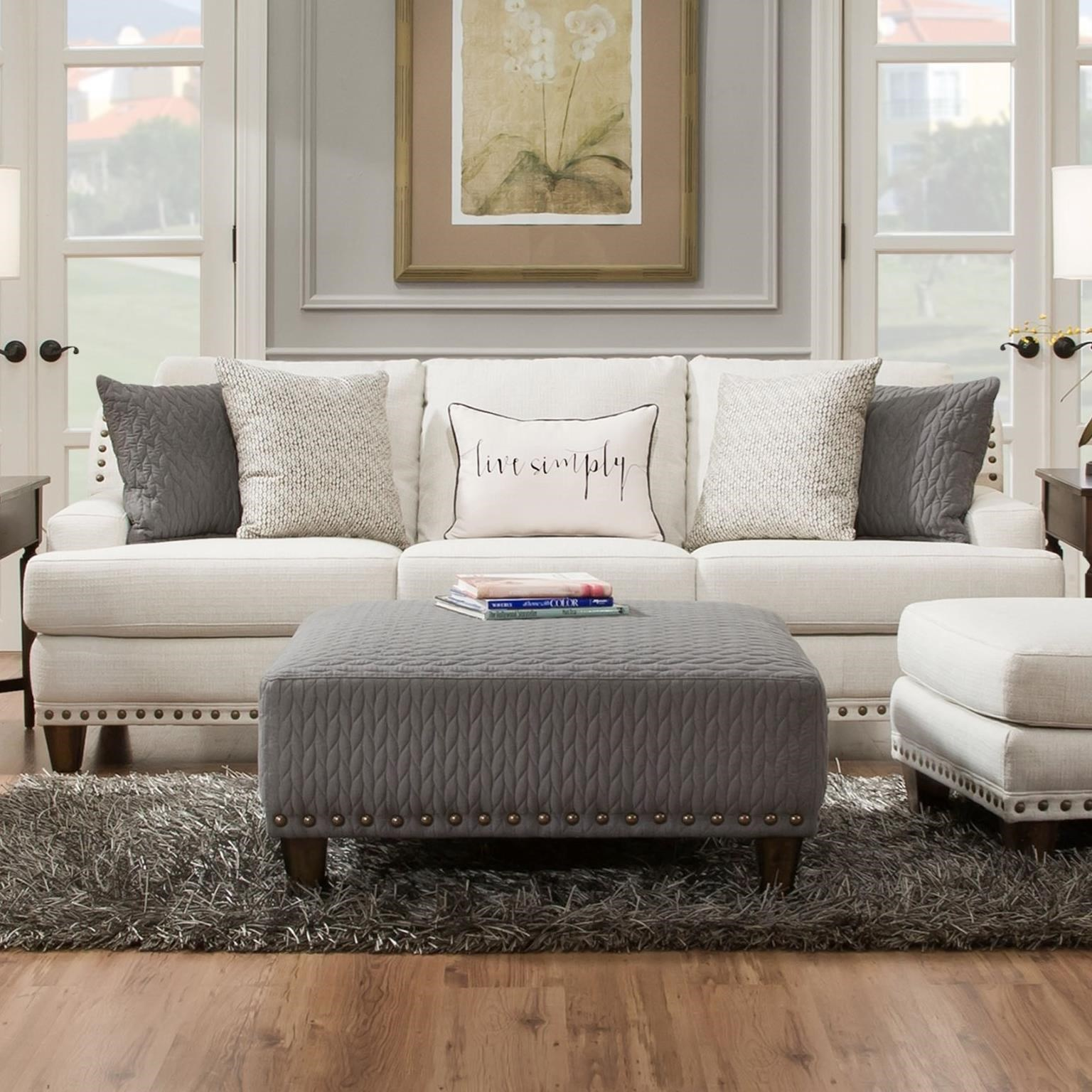 howell sofa armrest tray franklin stationary sofas sectionals