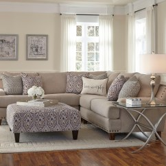 Living Room Sofa Photos San Juan Click Clack Reviews Franklin Anna Sectional With Four Seats Miskelly