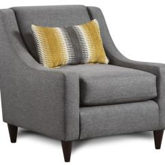 Accent Chairs With Arms Clearance Macys Leather Chair Fusion Furniture 592 Pillow And Sloping