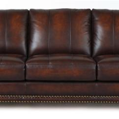 Nailhead Trim Leather Sofa Set Billig Chaiselong Til Salg Futura 7530 Traditional