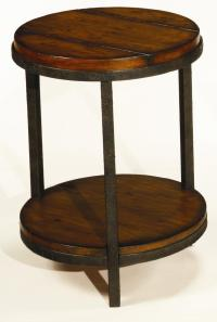 Hammary Baja T20750-T2075235-00 Round End Table with Shelf ...