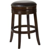 "Hillsdale Backless Bar Stools 30"" Tillman Backless Swivel"