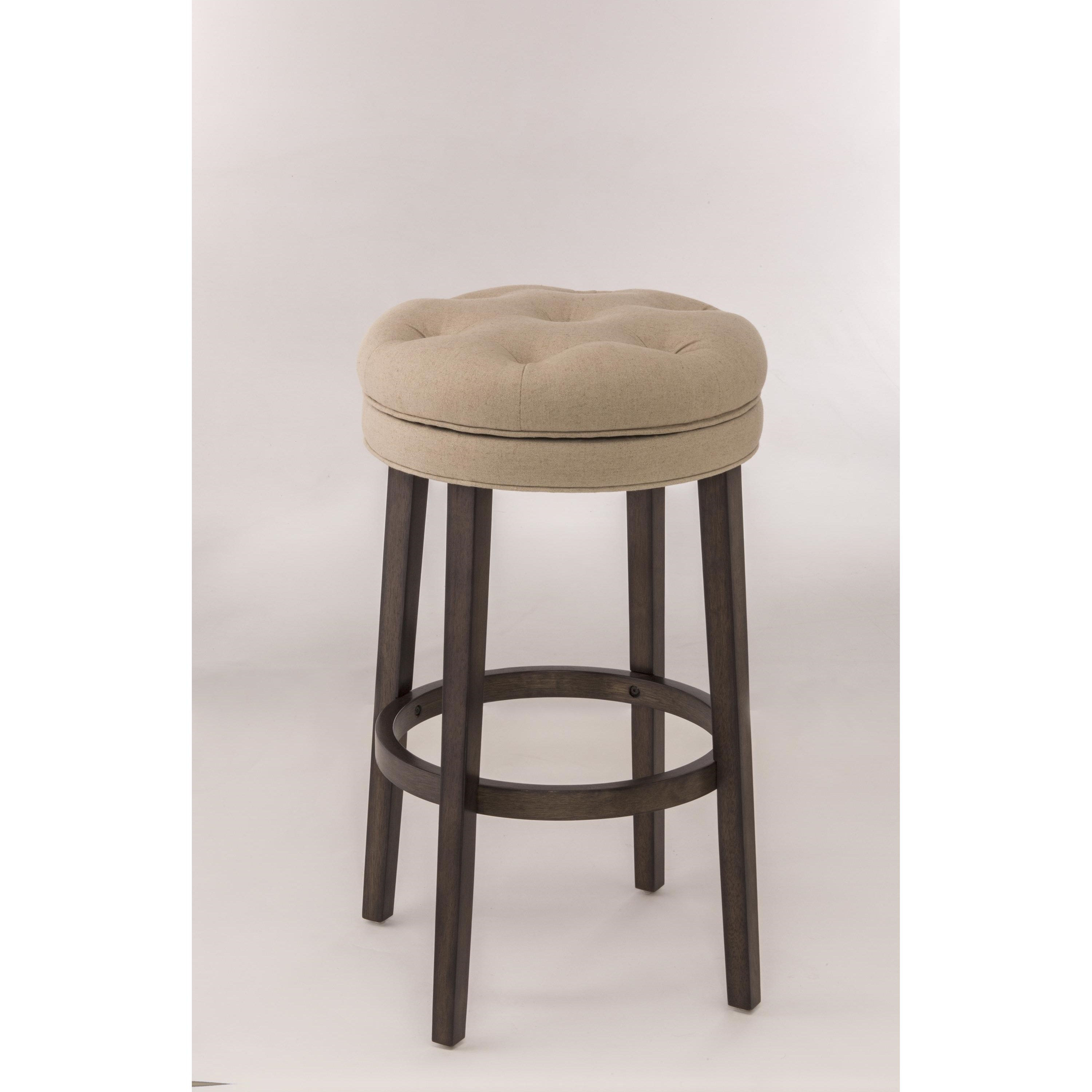 backless chair height stool queen anne style hillsdale bar stools swivel counter