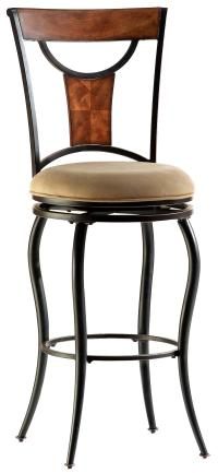 "Hillsdale Metal Stools 26"" Counter Height Pacifico Stool ..."