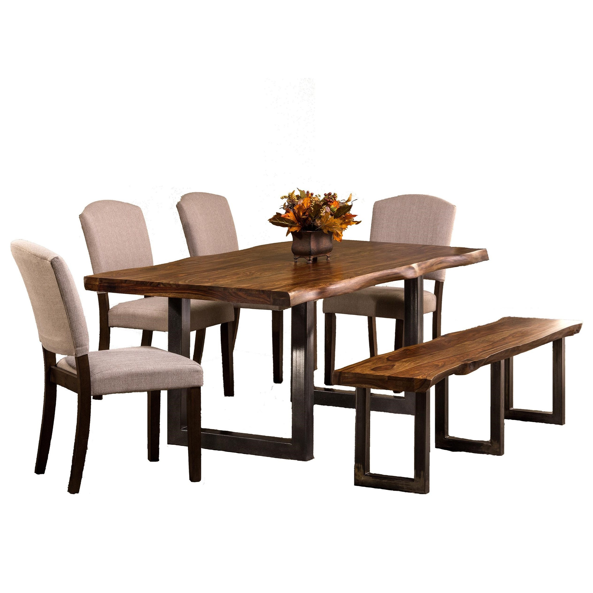set of dining chairs child sized table and hillsdale emerson 6 piece rectangle with