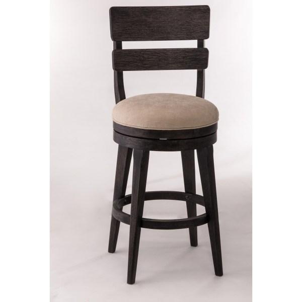 Wood Counter Height Swivel Bar Stools