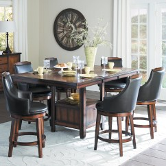 Counter Height Table And Chair Sets Swing Sam's Club Homelegance Bayshore Transitional
