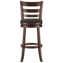 Swivel Chair Value City Blue Accent Chairs For Living Room Homelegance Edmond Bar Stool With Upholstered Seat