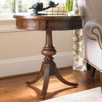 Hooker Furniture Living Room Accents Round Accent Table ...