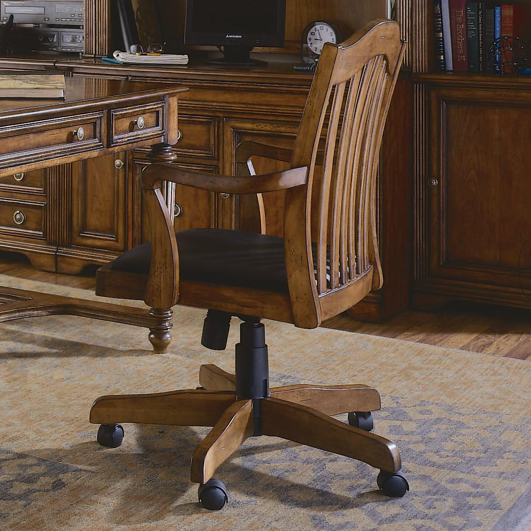 hooker desk chair outdoor wingback furniture brookhaven tilt swivel