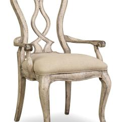 Chair With Arm Table Pottery Barn Child Covers Hooker Furniture Chatelet Splatback