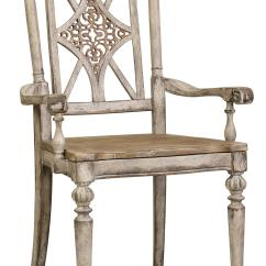 Chair With Arm Table Office Wheels Hardwood Floors Hooker Furniture Chatelet Fretback Tapered