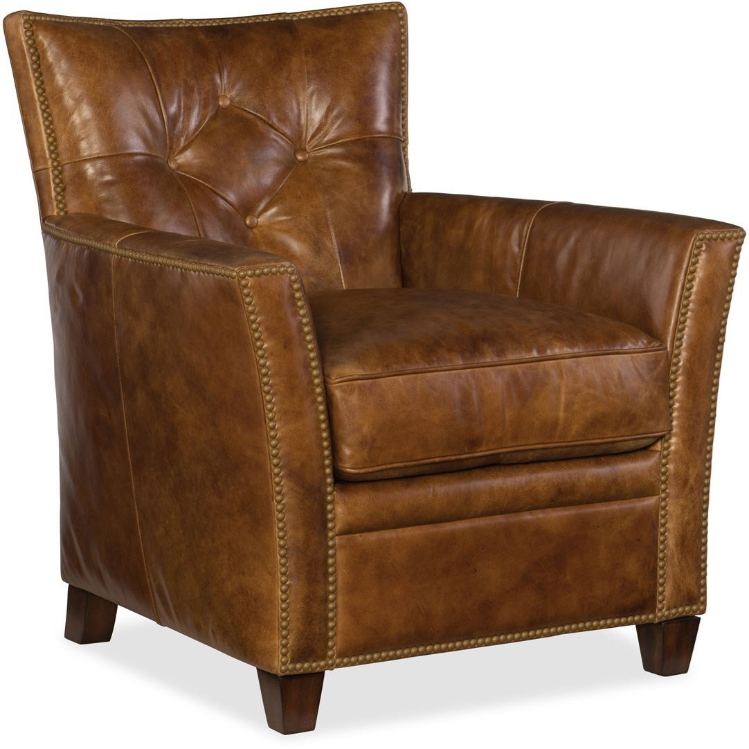 Hooker Leather Chair Hooker Furniture Conner Cc503 Leather Club Chair Belfort