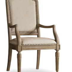 Upholstered Chair With Nailhead Trim Cushion For Rocking Hamilton Home Corsica Arm