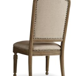 Upholstered Chair With Nailhead Trim Dining Room Seat Covers Canada Hamilton Home Corsica Side