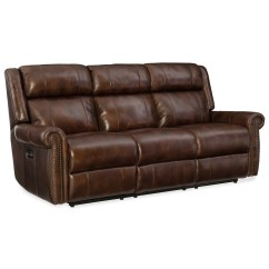 Motion Sofas Vegas Microfiber Queen Sleeper Sofa Reviews Hooker Furniture Esme Power With
