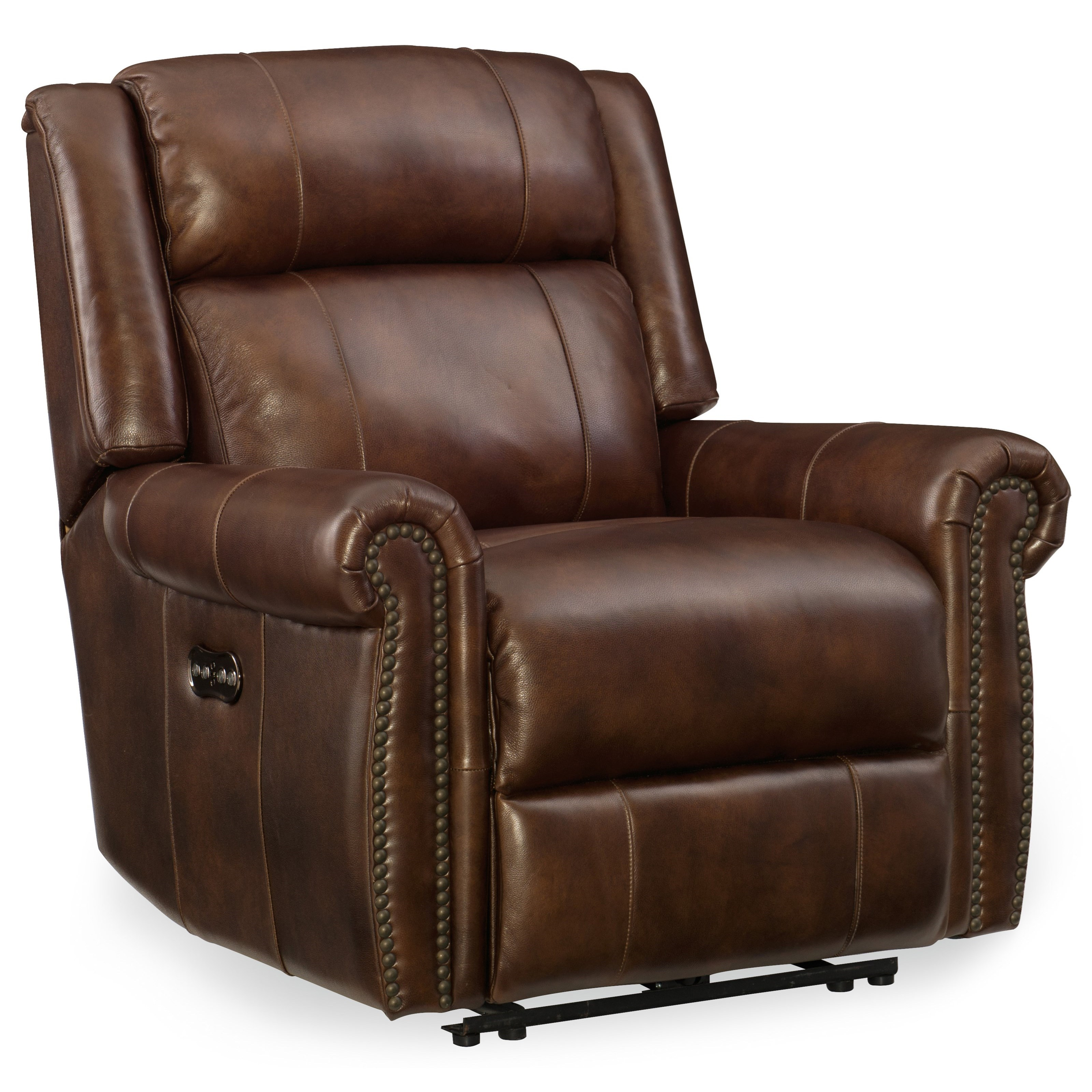 massage chair headrest patio rocking chairs canada hooker furniture esme power recliner with