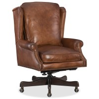 Hooker Furniture Finnian Leather Home Office Chair with ...