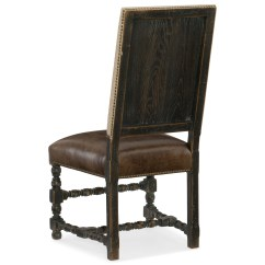 Hooker Leather Chair Oversized Folding Arm Furniture Hill Country 5960 75410 Blk Comfort