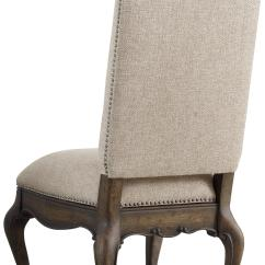 Upholstered Chair With Nailhead Trim Swivel Uk Gumtree Hooker Furniture Rhapsody Side