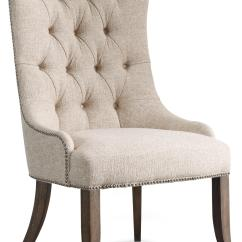 Tufted Dining Room Chairs Cheap Chair Covers For Sale Uk Hooker Furniture Rhapsody Transitional Button