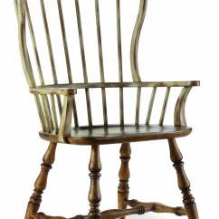 Spindle Arm Chair Swing Holder Hamilton Home Sanctuary Back Rotmans