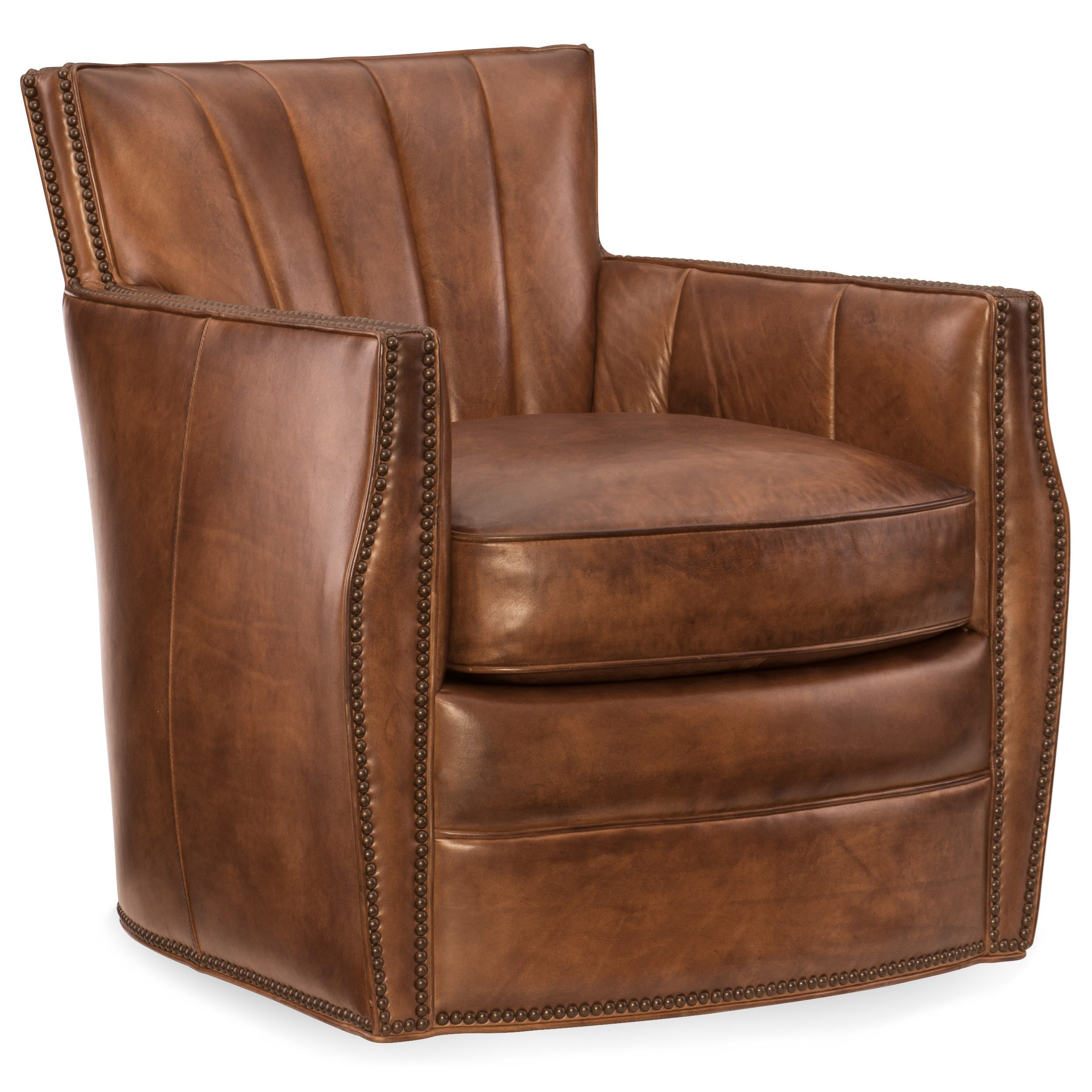 swivel club chair recliner handle broken hooker furniture chairs carson