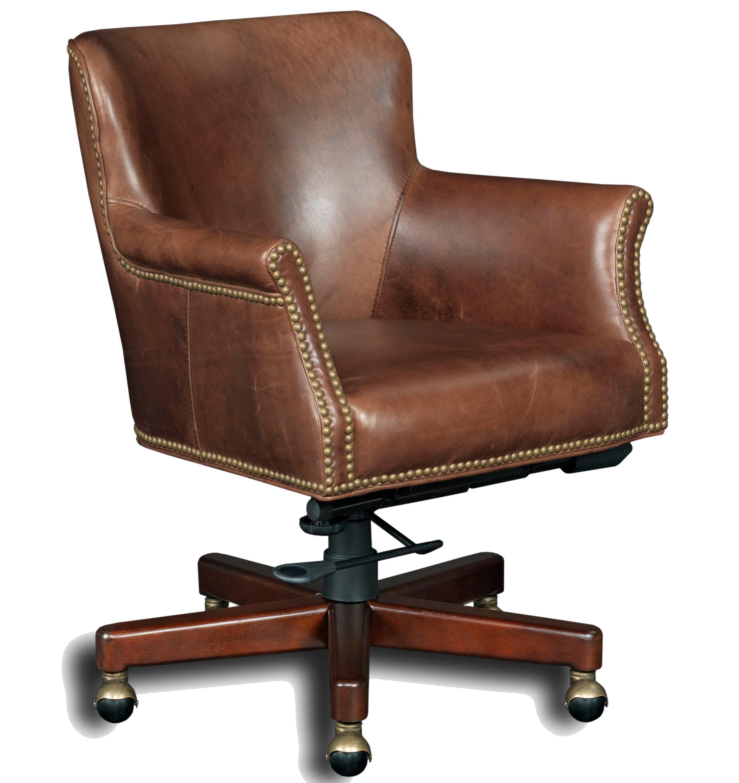 swivel chair executive rattan and ottoman hooker furniture seating tilt