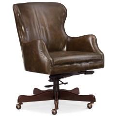Hooker Desk Chair Yugoslavian Folding Furniture Executive Seating Ec489 084 Caleb Leather