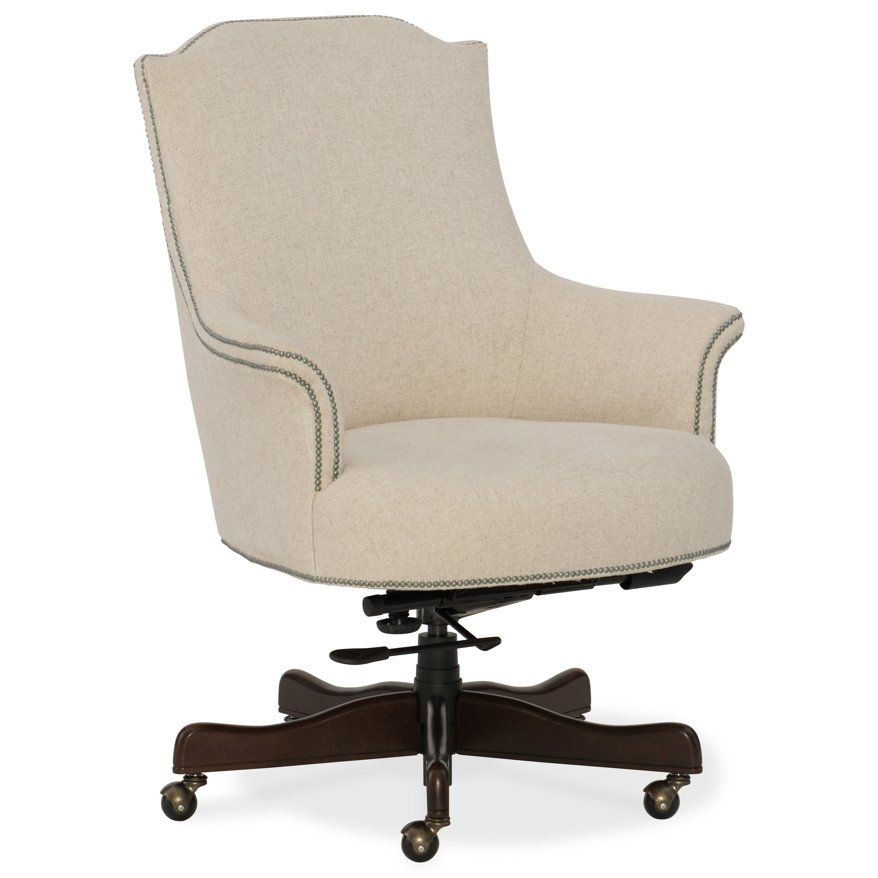 feminine executive office chairs chiavari wedding pictures hooker furniture seating daisy home chair