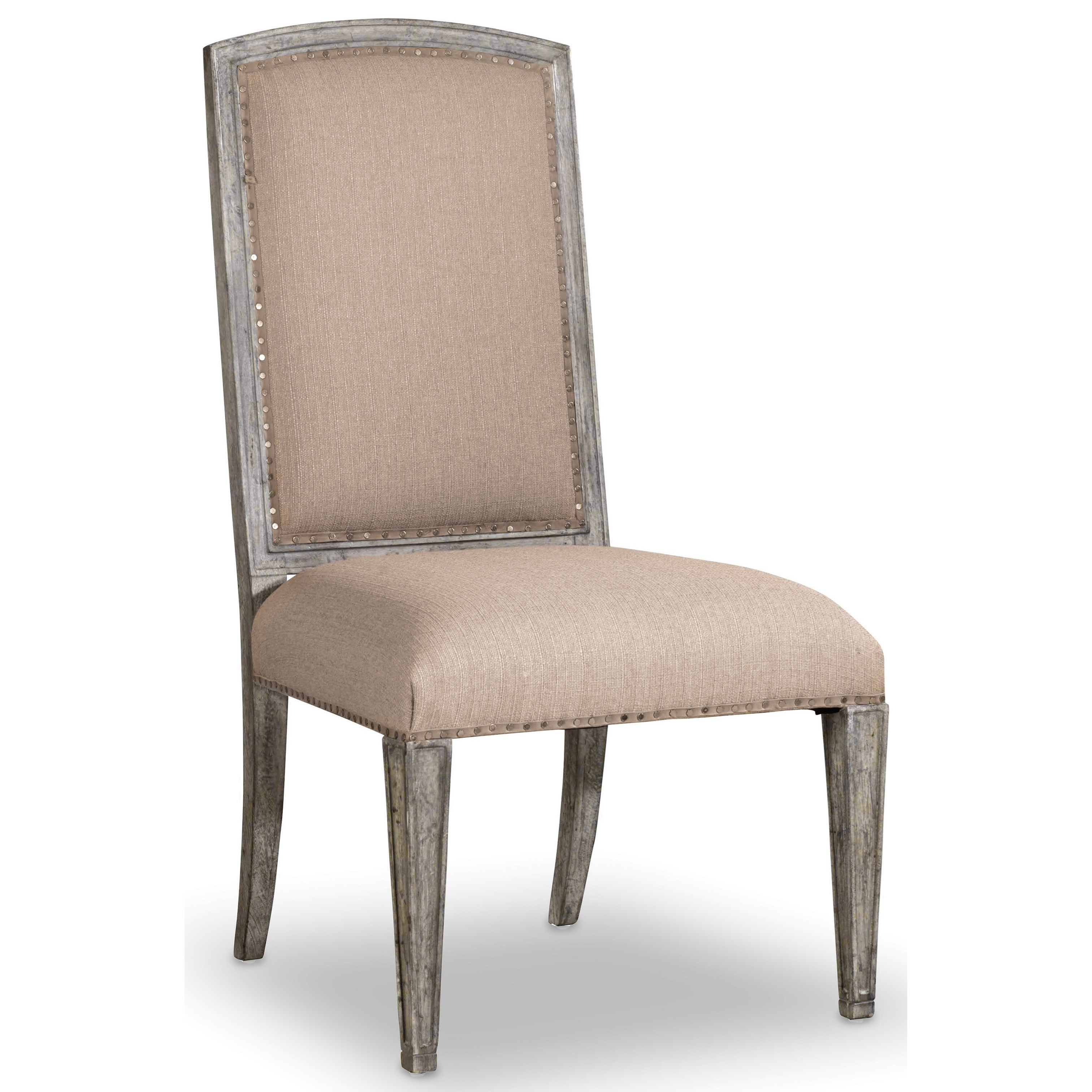 Upholstered Side Chairs Hooker Furniture True Vintage Upholstered Side Chair