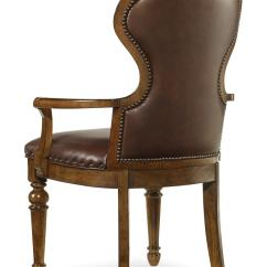 Chair With Arm Table Wooden Restaurant Chairs Arms Hooker Furniture Tynecastle Traditional And