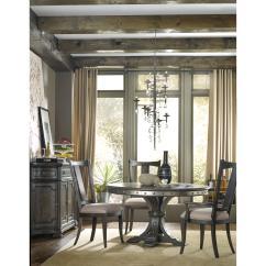 Vintage Dining Room Chairs Euro For Rv Hooker Furniture West Upholstered Splatback Side