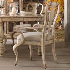White Distressed Dining Chairs Walking Chair For Disabled Hooker Furniture Wakefield Splatback Arm