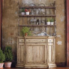 Bakers Racks For Kitchen Remodeling A Hooker Furniture Wakefield Three Door Drawer