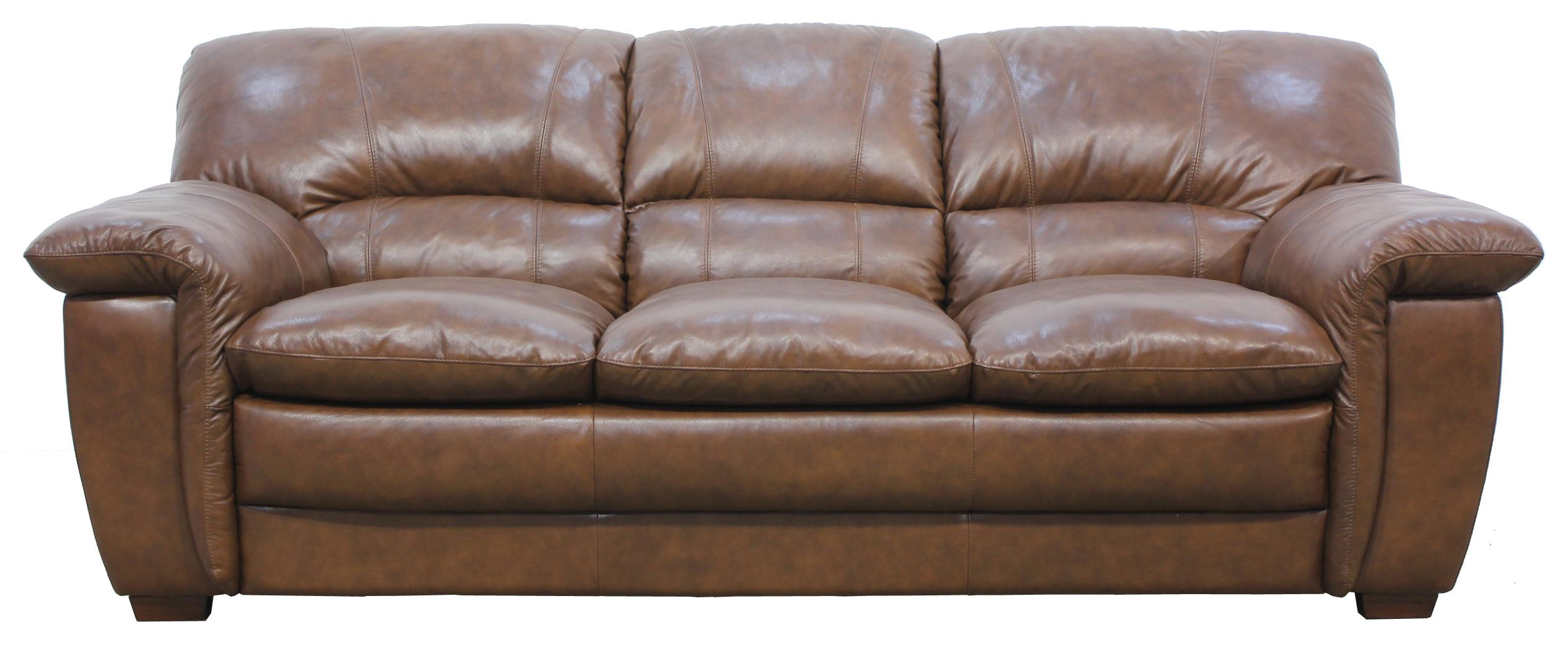 htl sofa range brown leather cheap 824 casual styled stationary for family room
