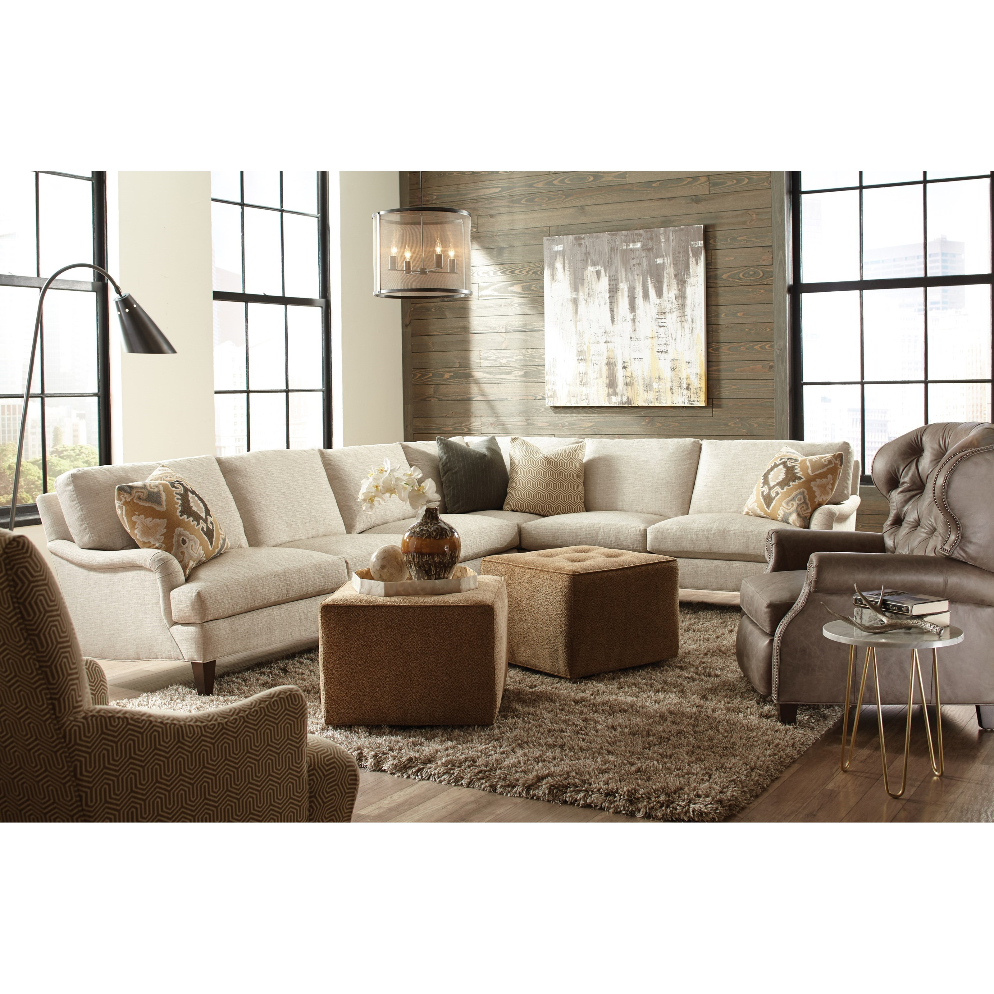 huntington sectional sofa the leather company cardiff house harper two piece traditional corner
