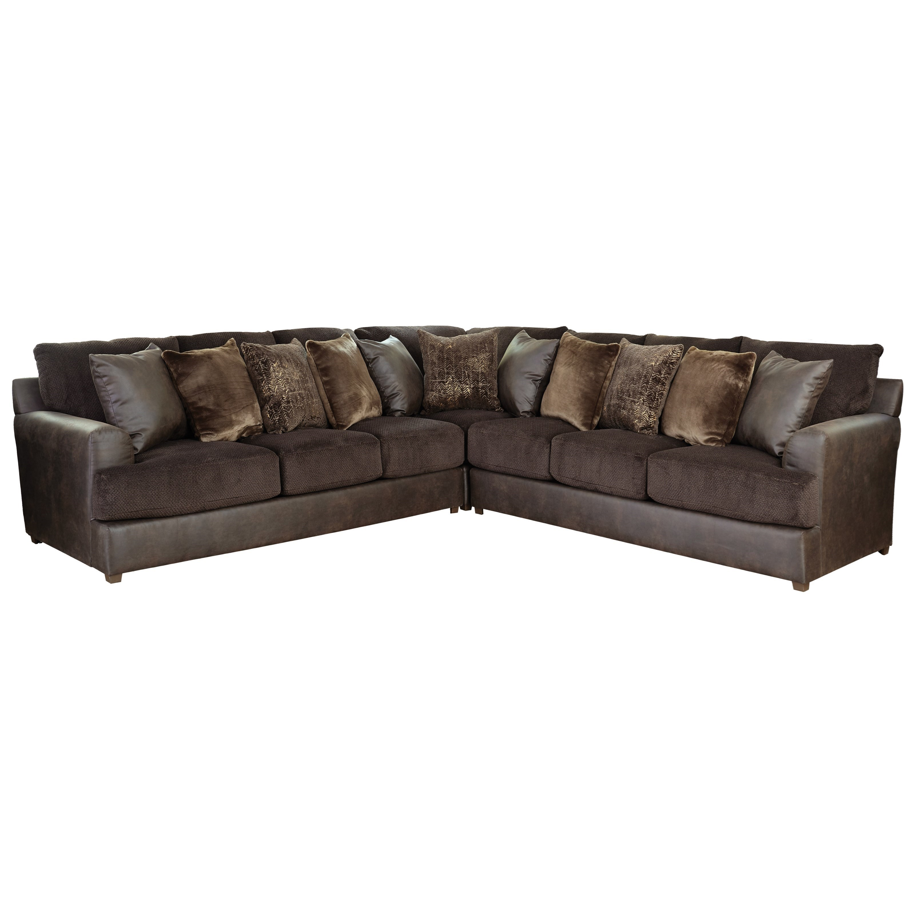jackson furniture sectional sofas antique sofa style identification cortland 3 piece with track