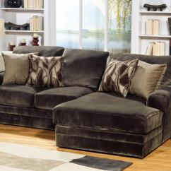 Jackson Furniture Sofa European Style Leather Sets 4377 Everest 2 Piece Sectional With