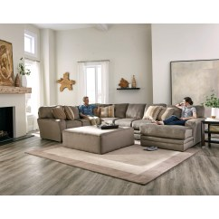 Jackson Furniture Sectional Sofas Half Circle Sofa Everest 3 Piece With Chaise