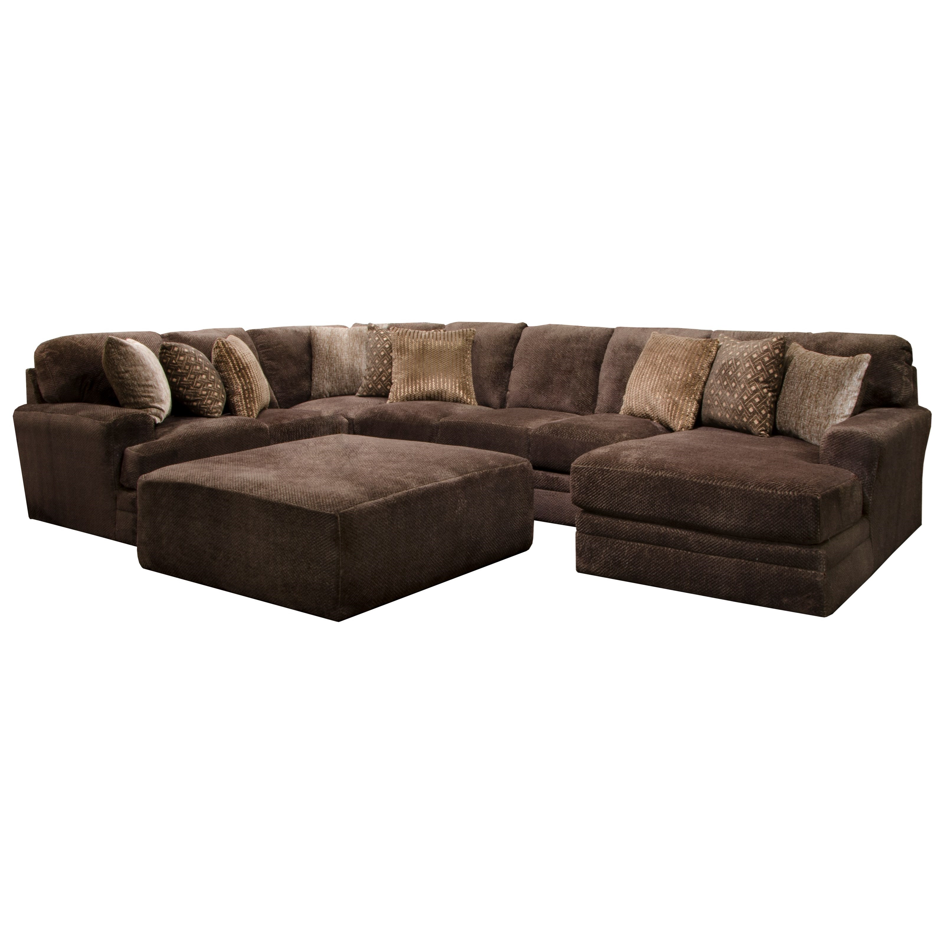 jackson furniture sectional sofas leather sofa bed houston tx mammoth four piece with chaise
