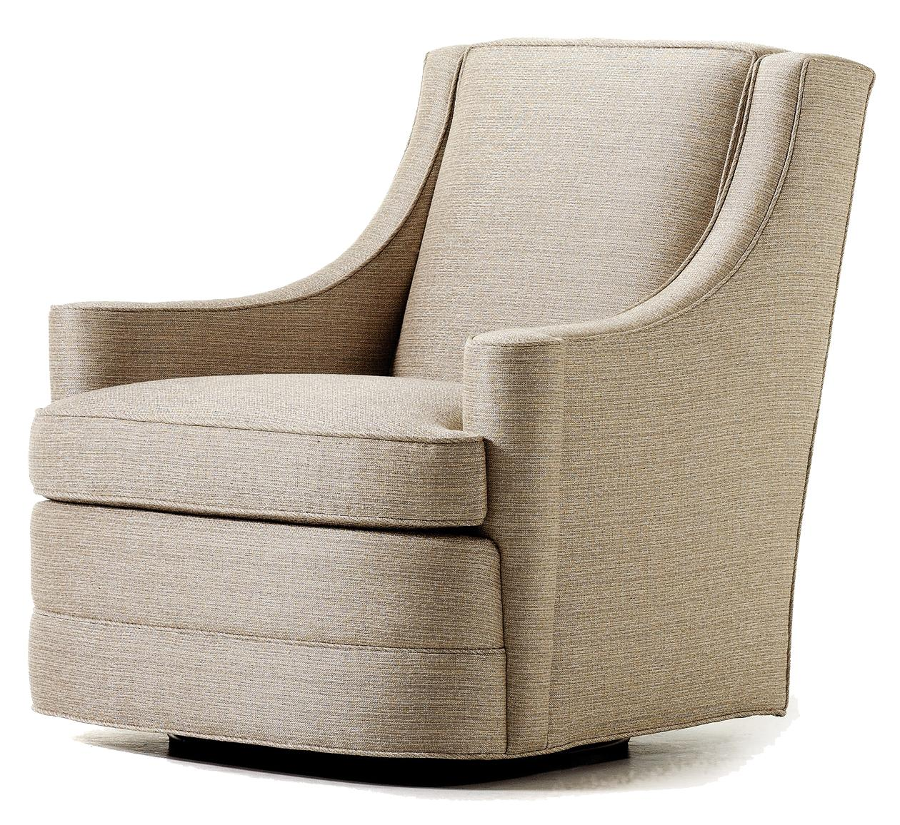 Jessica Charles Swivel Chairs Jessica Charles Fine Upholstered Accents Perry Upholstered
