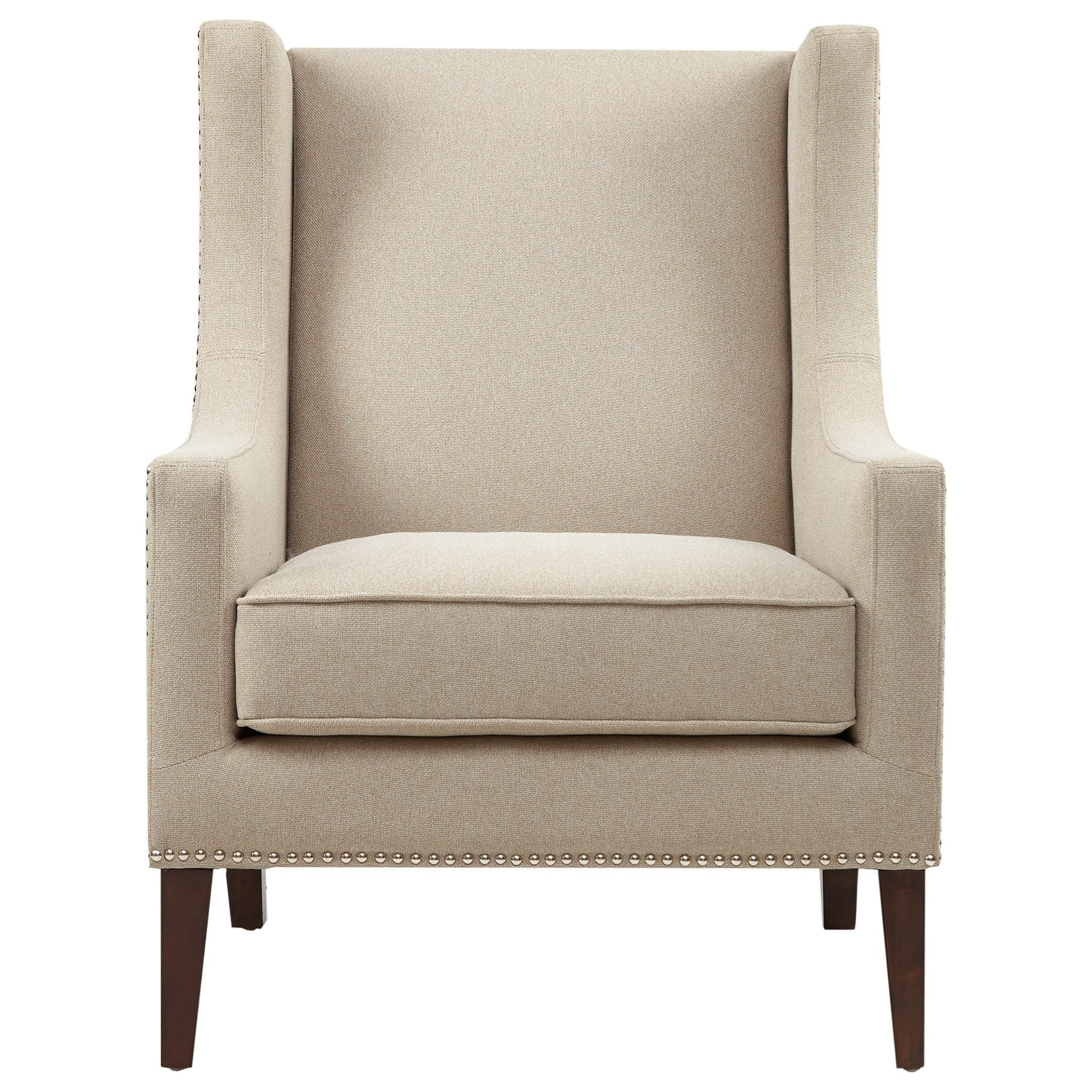 Barton Chair Jla Home Barton Mp100 0120 Wing Back Chair With Nailhead