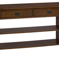 Media Sofa Table Rooms To Go Sofas Jofran Mission Oak Or With 2 Drawers And