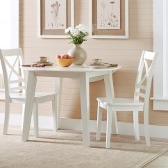 Small Kitchen Chairs Hanging Chair Ezibuy Jofran Simplicity Round Table And 2 Set With Quotx