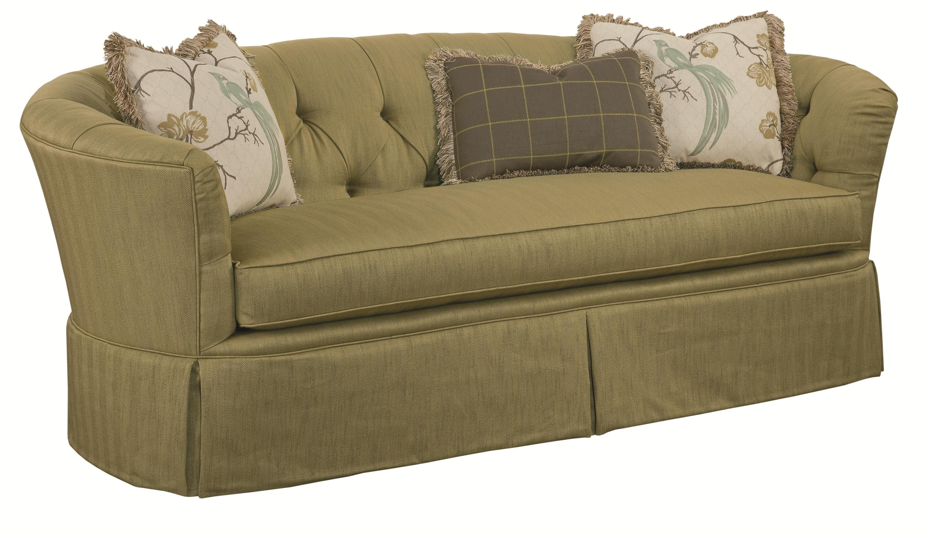 kincaid sofas reviews 3 seat recliner sofa covers furniture elm park button tufted howell